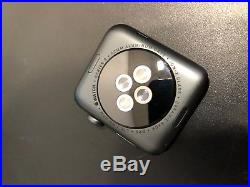 PARTS REPAIR LOCKED CRACKED Apple Watch Series 3 42mm Space Gray Aluminium Case