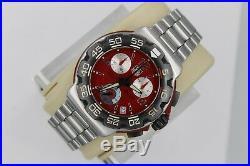 Parts Repair Tag Heuer CAC1112. BA0850 Formula 1 Red Chronograph Watch Mens