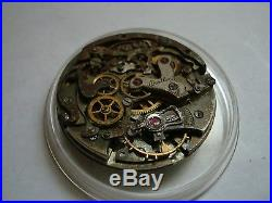 Parts Watch Vintage Breitling Chronograph Venus Cal 175 repair As Is