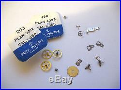 Patek Philippe 350,1-350 Assorted Watch Movement Parts