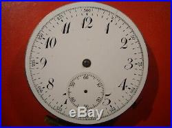 Quarter Repeater Chronograph Pocket Watch Movement Swiss To Repair or Parts