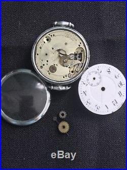 ROLEX TRENCH ANTIQUE WW1 Era 1915 Authentic! Parts Or Repair! Not Working! 30mm