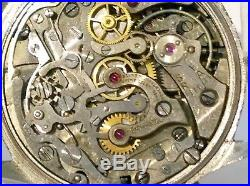 Rare 1940's MATHEY-TISSOT Chronograph LEMANIA 13CH29 17j Mens Watch Parts/Repair
