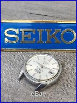Rare Feb 1965 Vintage Seiko 6218-8971 Weekdater 35J Automatic Parts/repair