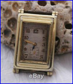 Rare Historically Significant Mars WIG WAG Automatic Watch for Repair Running