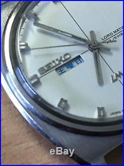 Rare JDM 1969 Vintage Seiko 5606-7050 Lord Matic 23J Automatic Parts/repair