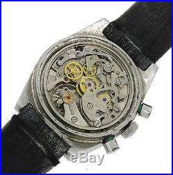 Rare Vintage Tissot PR 516 Lemania Cal 873 Chronograph Steel Watch Parts Repair