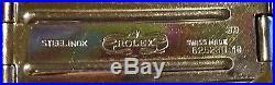 Rolex Ladies Oyster Perpetual Jubilee Two Tone Watch Black 62523D18 Repair Parts
