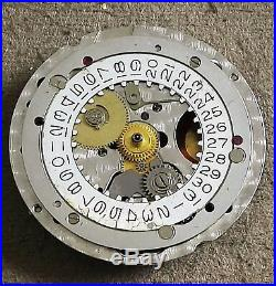 Rolex Oyster Quartz 5035 Movement For Parts Or Repairs Not Working