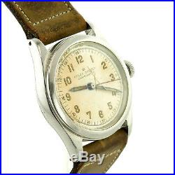 Rolex Vintage 372492 Oyster Beige Dial Chronometer Watch For Parts/repairs