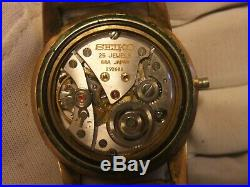SEIKO KING SEIKO DIASHOCK 44-2000 Hand-winding MEN'S Watch For Repair or Parts
