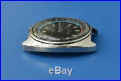Seiko 6117-6410 Navigator Timer for Parts/Repair, January 1972