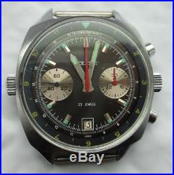 Soviet Union Russian CCCP Poljot Pilot Chronograph Watch, Repair/Parts, No Res