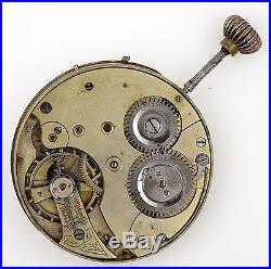 Systeme Glashutte German Lever Pocket Watch Movement Spares Repairs Q65