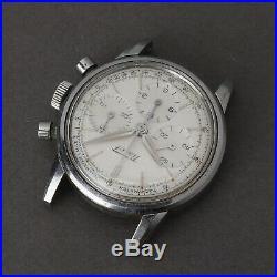 TISSOT Ref. 808A Original Lemania 1280 Watch Chronograph 1960's Rare Parts Repair
