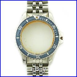 Tag Heuer 1000 Series 980. Diver Submariner Case+bracelet For Parts/repairs