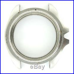 Tag Heuer 1000 Series Mens Stainless Steel Watch Case Frame For Parts Or Repairs