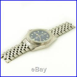 Tag Heuer 1000 Series Professional 200m Blue Dial Watch Head For Parts/repairs