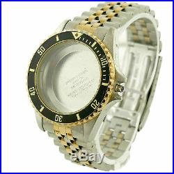 Tag Heuer 981.006 1500 2-tone S. S. Watch Case+jubilee Bracelet For Parts/repairs