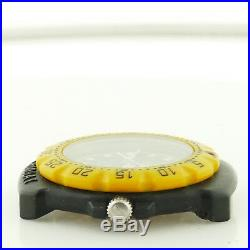 Tag Heuer Formula 1 Yellow Bezel / Black Dial Head For Parts Or Repairs