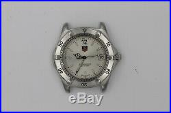Tag Heuer WK1112 Silver 2000 Professional Watch Mens Parts Repair