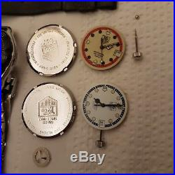 Tag heuer x2 watch parts formula 1 for repairs stainless steel strap