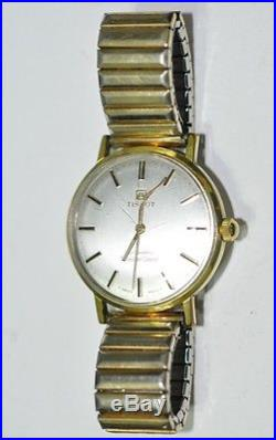 Tissot Seastar Seven Automatic Watch 10k Gf For Runs Parts/repairs #w832