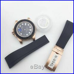Top quality fit 2836 case kit watch repair parts for yacht master 904L steel