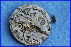 Tutima WWII German Military Chronograph Cal Urofa 59 for parts or repair