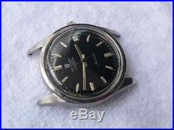 UNIVERSAL GENEVE POLEROUTER steel AUTOMATIC 28 JEWELS CAL. 69 PARTS REPAIR