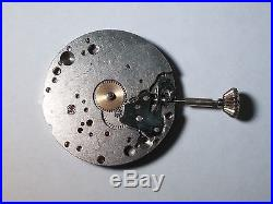 UT Unitas 6498 movement, Baylor, with crown good condition, for repair