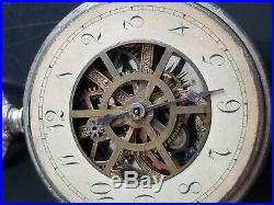 VERY RARE Benedict and Bernum Pre WATERBURY Pocket Watch Series A Parts/Repair