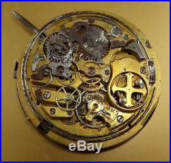 VINTAGE ANGELUS REPEATER MOVEMENT SOLD AS IS FOR PARTS or REPAIR