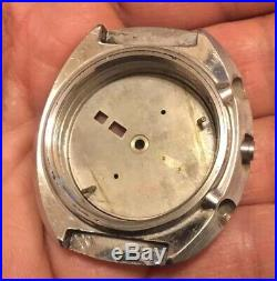 VINTAGE Case Seiko UFO 6138-0011 Automatic Watch And Its Dial FOR Parts REPAIR