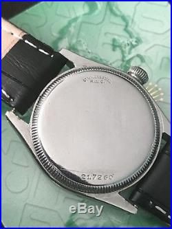 VINTAGE ROLEX OYSTER Ref#2280 Midsize 31mm ELEGANTE Dial For PARTS Or REPAIR
