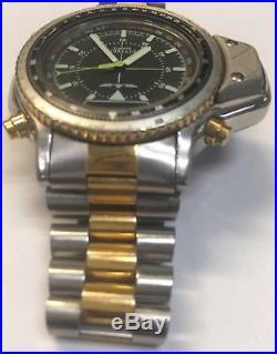 Very Rare Citizen Aerochron Promaster JL0024-57E C046 NOS Ana/Digi. Parts/Repair