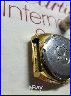 Very Rare Vintage (70's) Men's Omega MegaQuartz 32KHZ Quartz For Parts or Repair