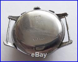 Very Rare big size EROICA Landeron 52 Chronograph Parts or Repair