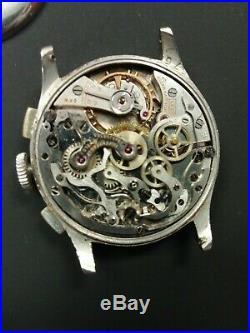 Vintage Bulova chronograph valjoux 23 parts or repair