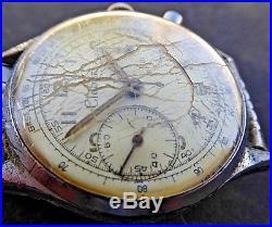 Vintage CLEBAR CHRONOGRAPH LANDERON 248 SWISS MOVEMENT 17J SWISS PARTS REPAIR