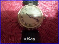 Vintage Cartier Must DE Argent womens quartz watch- SN-17050343- PARTS/REPAIR
