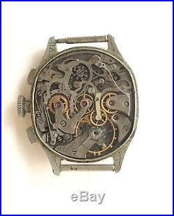 Vintage Gallet Chronograph Excelsior Park 42 for Repair