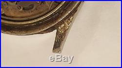Vintage Gallet MultiChron 12H Jim Clark EP 40 for parts or repair