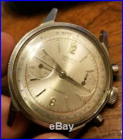 Vintage Gruen Precision Chronograph 770 R Wristwatch 17j 7730 For PARTS/REPAIR