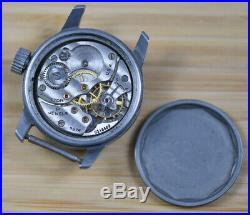 Vintage HAMILTON 987A Military Issue WW2 OD-110484 Watch FOR REPAIR PARTS