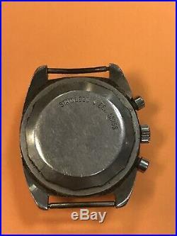 Vintage Hamilton Chrono Diver Watch Parts Repair