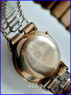 Vintage Hamilton Electric 10K Gold Filled Cal. 505 Watch 1950' (Repair / Parts)