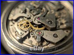 Vintage Invencible Chronograph Valjoux Movement For Parts Or Repair