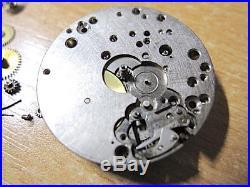 Vintage, Lemania 1270 Chronograph Wristwatch Project, Repair, Parts
