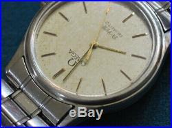 Vintage OMEGA 1336 De Ville S. S. Men's Watch - For Repair /Parts
